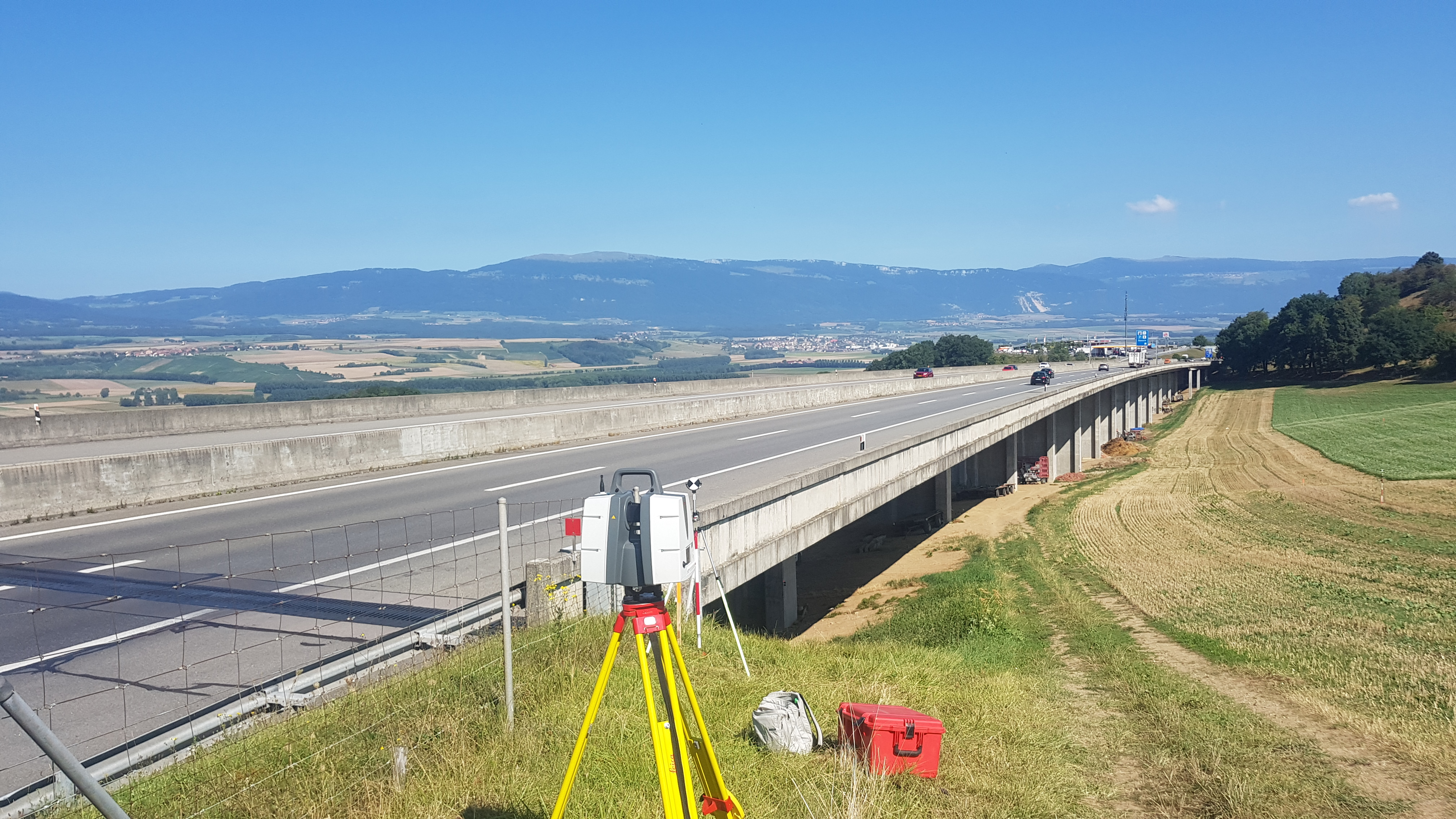 Mobile Mapping - Autoroute A1 / Essert-Pittet
