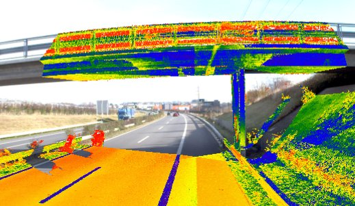 Mobile Mapping - Autoroute A1